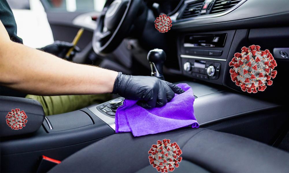 پاک کردت و تمیز کردن داخل خودرو
